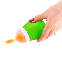 Colher Dosadora Para Papinha Verde C/ Tampa - Munchkin