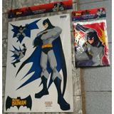 Decoração Aniversário The Batman Enfeites Parede Toalha Mesa