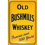 Old Bushmills Whisky (amarillo) En Relieve Si + Envio Gratis