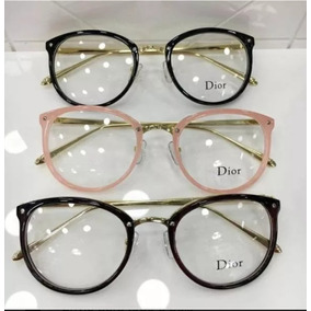Óculos Redondo Oculos Dior - Óculos no Mercado Livre Brasil 8284e859ab