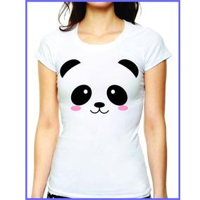 Playera Con Diseño De Oso Panda