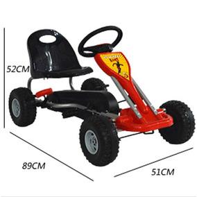Quadriciclo Mini Kart Infantil A Pedal Brinquedo