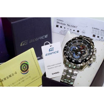 Promoção E10004 Relogio Casio Edifice Ef550rbsp 1av Red Bull