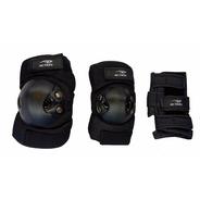 Protecciones De Rollers Skate. Rodilla Codos Y Puños