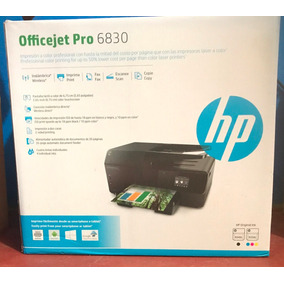 Vendo O Cambio Impresora Multifuncional Hp Officejet 6830