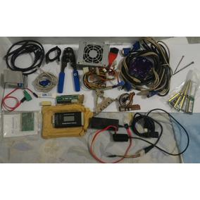 Kit Manutenção De Micros Ferramentas Testadores Adaptadores