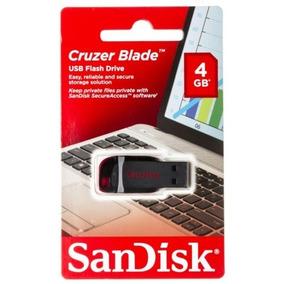 Pendrive Sandisk 4 Gb Cruzer Blade Totalmente Nuevo