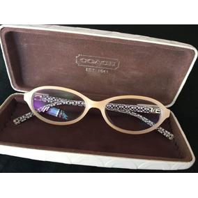 Armação De Óculos Coach - Óculos no Mercado Livre Brasil b868195a39