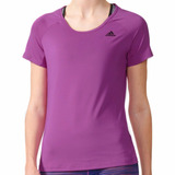 Playera Atletica Basic Solid Performance Mujer adidas Ay7831