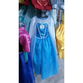 Frozen Elsa Niña Princesas Vestido Fiesta Cómodo