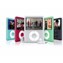 Mp4 Player 4gb + Gravador Voz + Radio Fm + Fone + Filmes