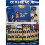 Álbum De Figurinha C/ Dura Copa 2018 Rússia Completo+ Brinde