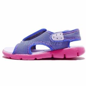 Nike Sunray Adjust 4 - Ojotas Para Bebés - Rosa Casa Poma