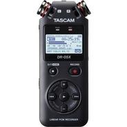 Gravador Áudio Tascam Dr-05x Digital Portátil 12x S/juros