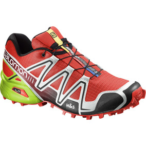 Zapatilla Masculina Salomon- Speedcross 3 M Rojo