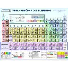Tabela Periódica - Gigante - 117 Cm X 89 Cm - Frete R$ 4,90