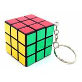 Llavero Cubo Mágico Cubo De Rubik Ideal Souvenir Eventos