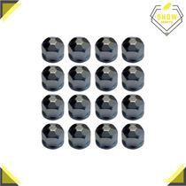 Capa De Parafuso Hexa Cromada P/ Roda Jg C/ 16 Peças 19mm