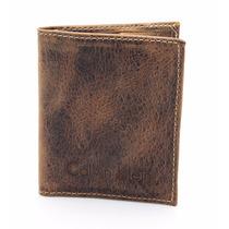 Carteira Calvin Klein Masculina Ck Porta Cartão Em Couro