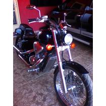Farol Preto Motos Custom Chopper Bobber Triciclos