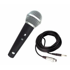 Microfone Profissional Para Caixa De Som Amplificada Musica