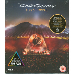 David Gilmour Live At Pompeii Box Set 2cd +2 Bluray Nuevo