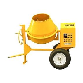 Trompo Para Concreto Cipsa 1 Saco Maxi10 Motor 9hp Mpower