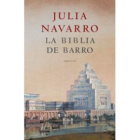 La Biblia De Barro No Es Bolsillo Julia Navarro Tapa Dura.