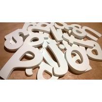 Letras, Nombres, Logos, En Madera Y Mdf, De 10cm
