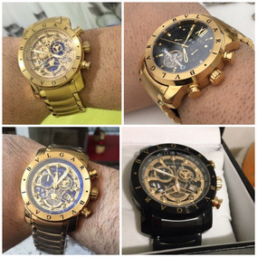 Relógio Bvlgari Todo Funcional