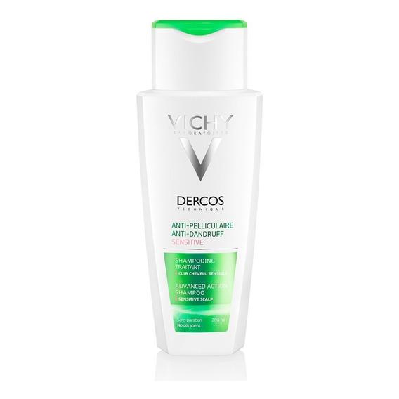 Shampoo Vichy Dercos Anticaspa Cabellos Sensibles X 200 Ml