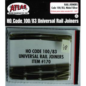 Eclisas Atlas X48 Niquel Plata Código 100/83 Escala H0 1/87