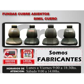 Funda Cubre Asiento Simil Cuero Renault Qubo + Cuota