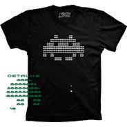 Camiseta Atari Space Game Vários Tams. Plus Size G1 G2 G3 G4