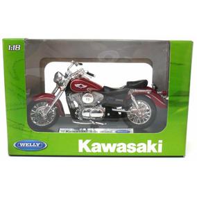 Miniatura Moto Kawasaki Vulcan 1500 Classic Escala 1:18