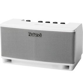 Amplificador Monitor Teclado Microfone Cube Branco - Roland