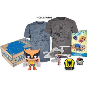 Funko Box Collectors Women Of Dc L Sin Comic Nuevo+envío Gra