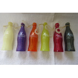 Mini Garrafinhas Promoção Coca-cola Coloridas Lote Com 6 Pçs