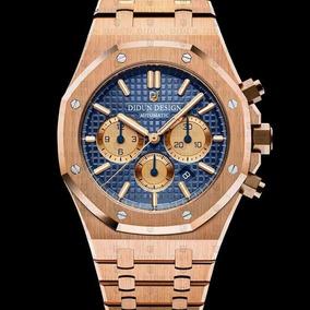 Reloj Blue Gold Chapado 10k/ Cronógrafo 46mm $ 8,000 -30%