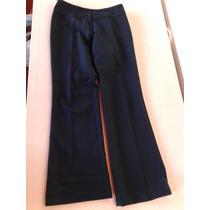 Pantalon De Vestir Color Petroleo, Talle M