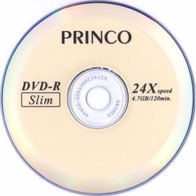 Dvd Virgen Princo Slim 4.7 Gb 120 Min 24x Precio X Unidad