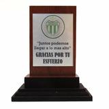 Placas Madera Plaquetas Chapa Sublimada Trofeos