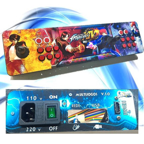 Controle Arcade Fliperama Caixa P/rasp+c.gpio, Hdmi, Fonte