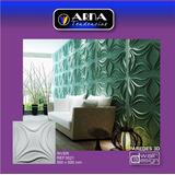Paneles De Paredes 3d Wall Design Ref Lily 50cm X 50cm Und