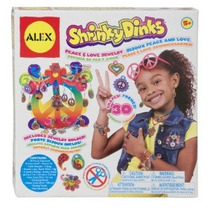 Shrinky Dinks Paz Y Amor