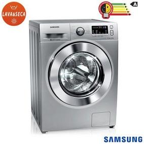 Lava & Seca 10,2kg Samsung Air Wash Silver - Wd10m44530s