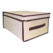 Caixa Organizadora Rígida Resistente Empilhável 45x30x20 Cm