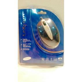 Mouse Lexcom Laser Ml-201bs! Lindo Diseño En Color Azul