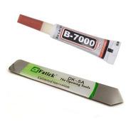 Espatula Metal Abridor Celular + Pegamento B7000 Mini 3ml