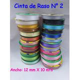 Cinta De Raso N° 2 X 10 Mts. - Once